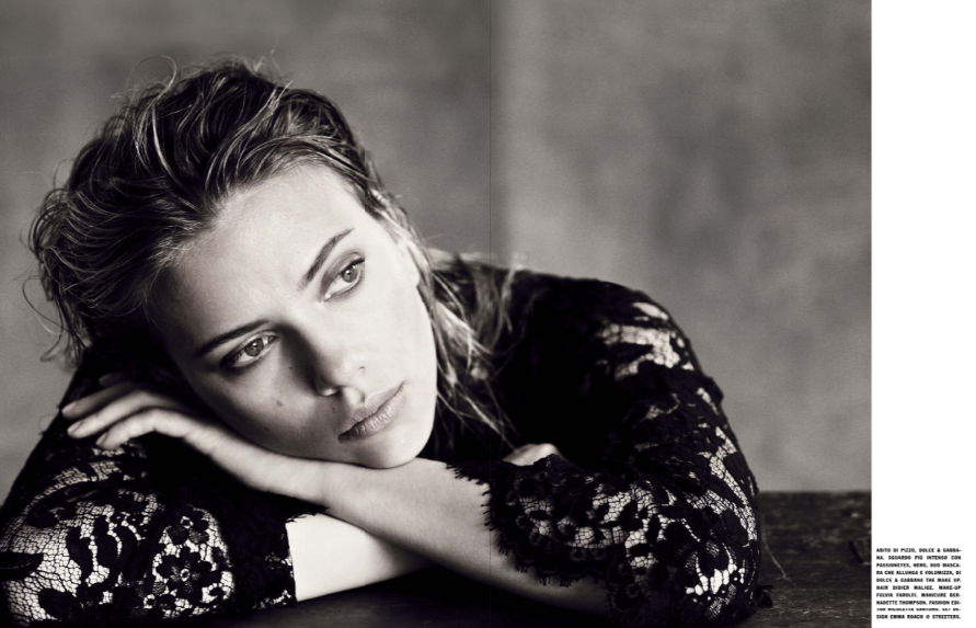 Scarlett Johansson by Paolo Roversi for Vogue Italia October 2013 4
